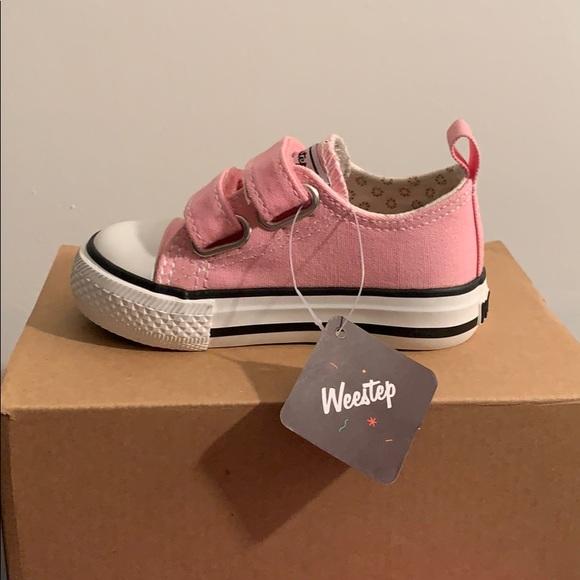 Weestep Shoes   Pink Sneakers   Poshmark